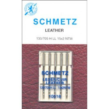 #1785  Schmetz Machine Needle Leather 5 Pk Sz 100/16