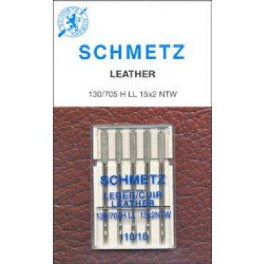 #1786 Schmetz Machine Needle Leather 5 Pk Sz 110/18