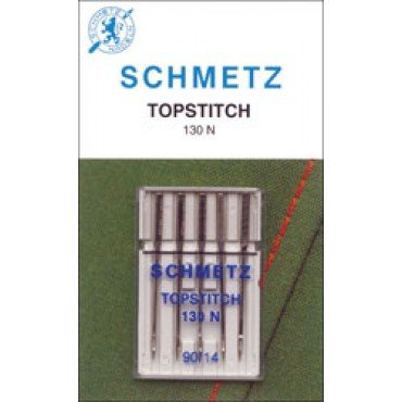 #1793 Schmetz Machine Needle Topstitch 5 Pk Sz 90/14