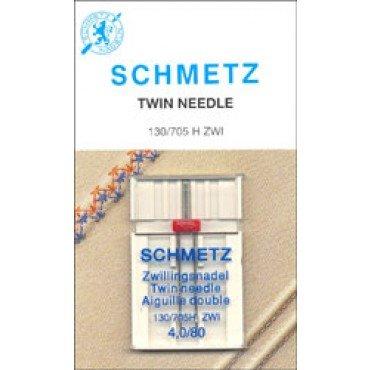 #1794 Schmetz Machine Needle Universal Twin Sz 4.0/80