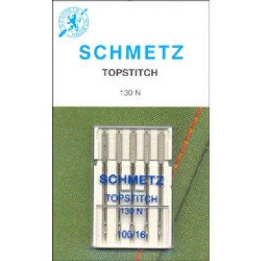 #1798 Schmetz Machine Needle Topstitch 5 Pk Sz 100/16