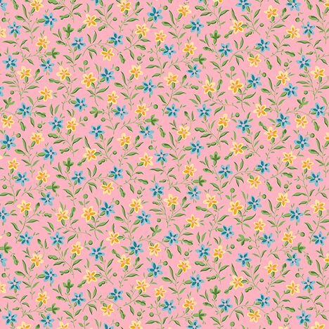 23074-PB QT Bleecker Street Posey Pink