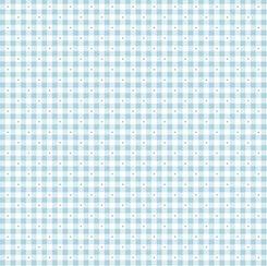 1649 23691 B QT Sorbets Gingham Cloud Blue