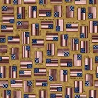 For Love of Country 24178S Flags Amber