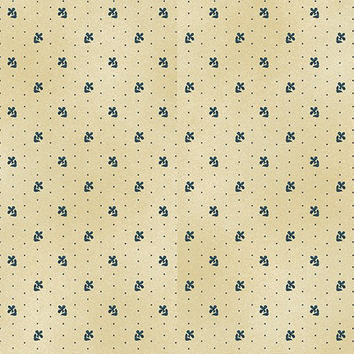 02544 07   Benartex Daisy Dot Cream   Liberty Hill