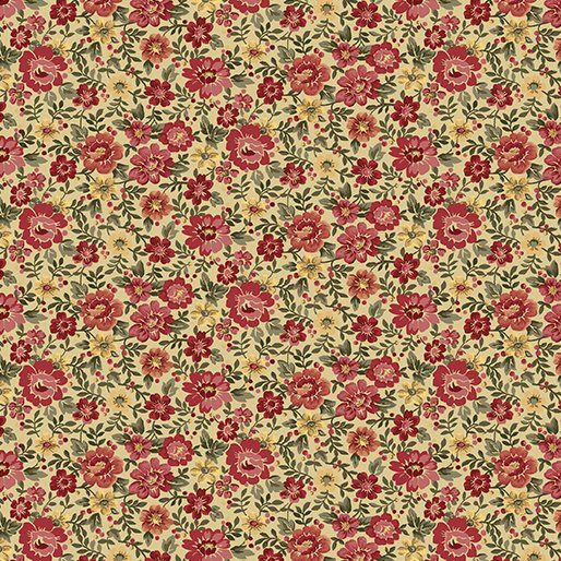 02548 Benartex Floral Honey Multi   Liberty Hill