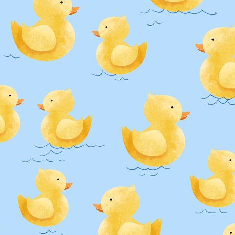 QT Quackers Rubber Duckies Blue 27056B