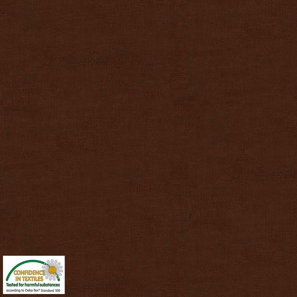 4509-305 STOF Melange Solid Dk Chestnut