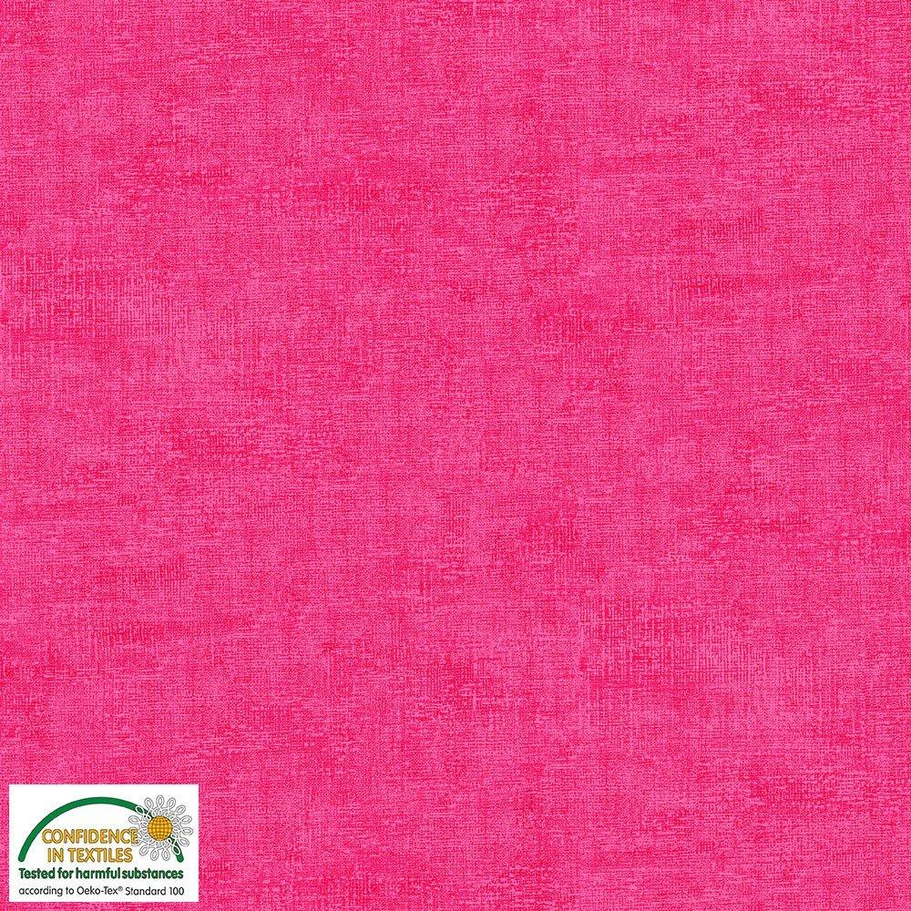 4509-501 STOF Melange Solid Hot Pink