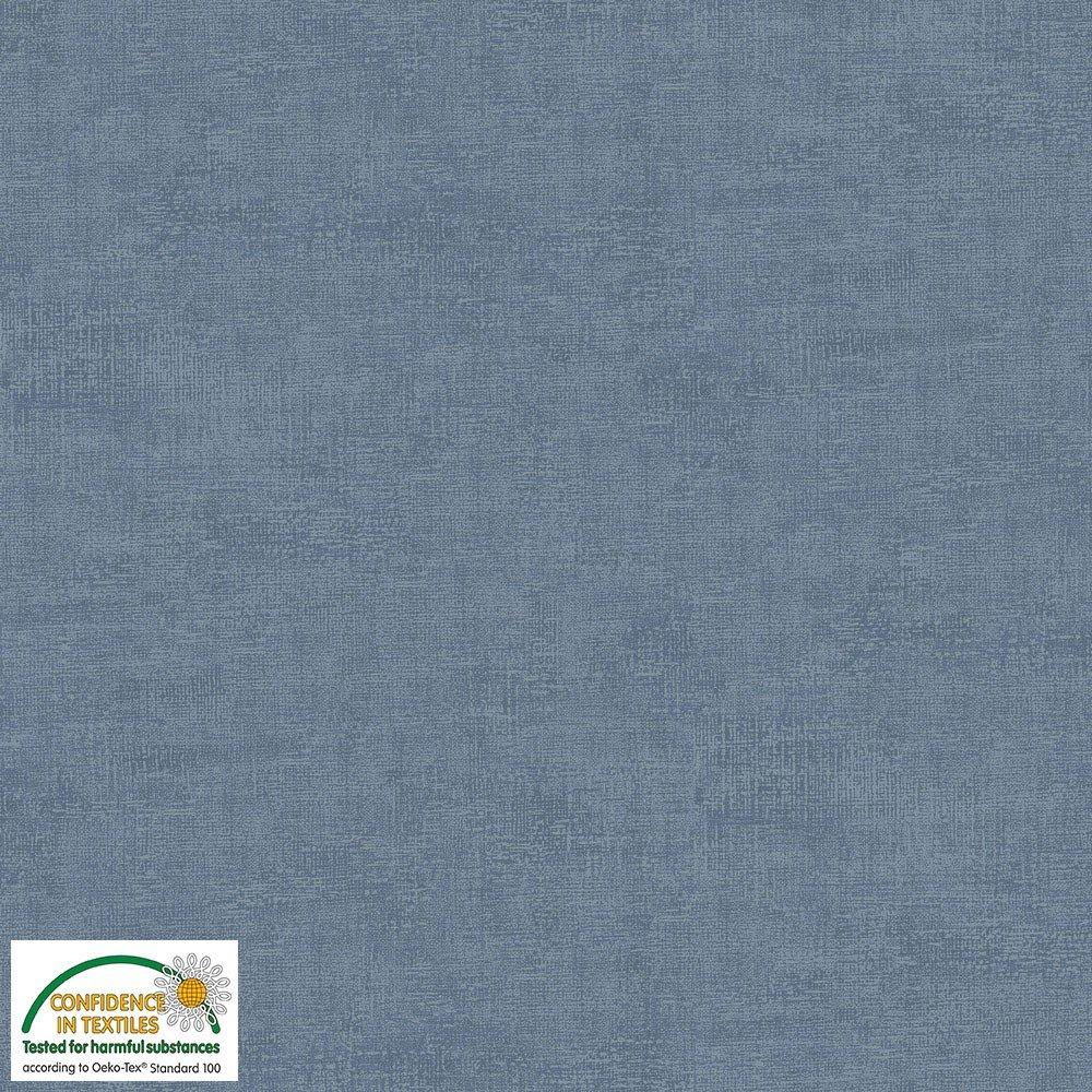 4509-609 STOF Melange Solid Blue Slate
