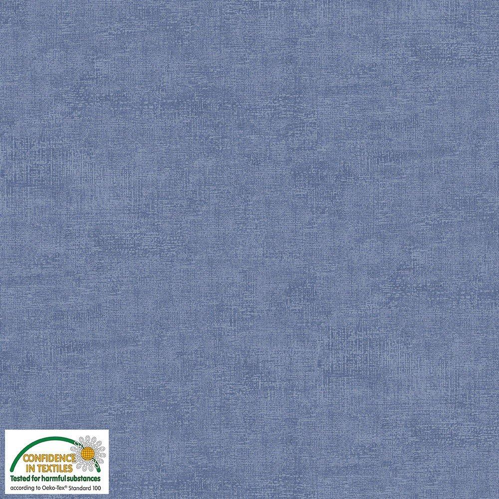 4509-611 STOF Melange Solid Blueberry