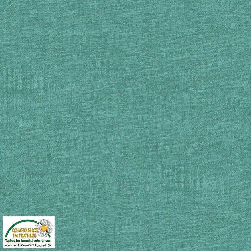 4509-703 STOF Melange Solid Turquoise