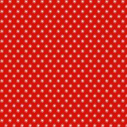 4512-329 Colour Fun Red w/White Sunburst