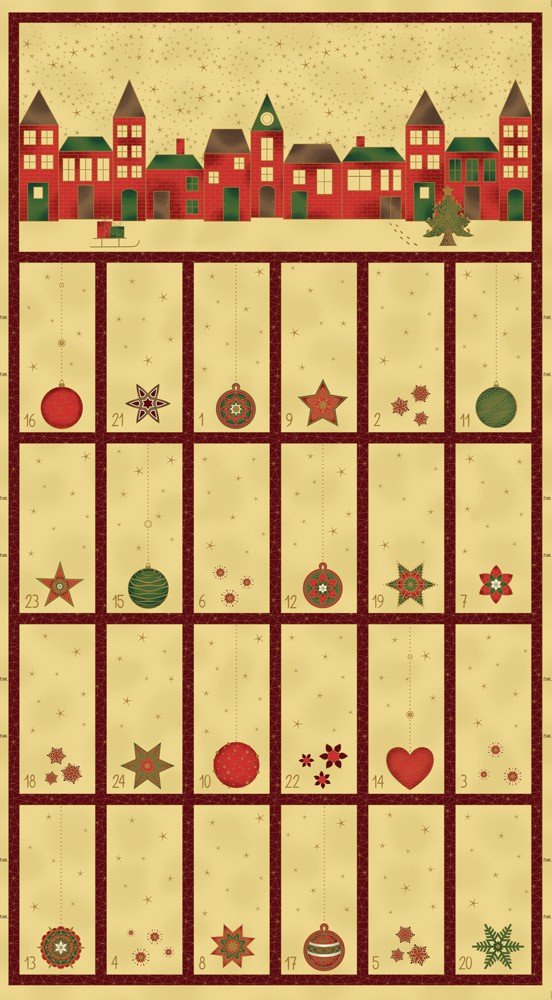 4595-285 STOF Amazing Stars Random Calendar Cream Panel