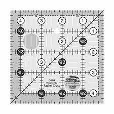 Creative Grids Quilt Ruler 4-1/2 Square  CGR4