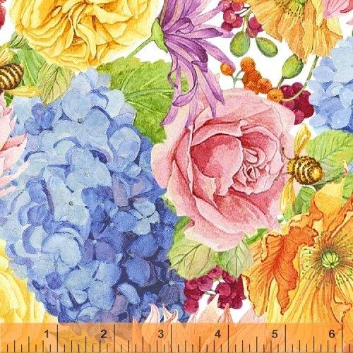 50576-2 Windham Cottage Joy  Blue