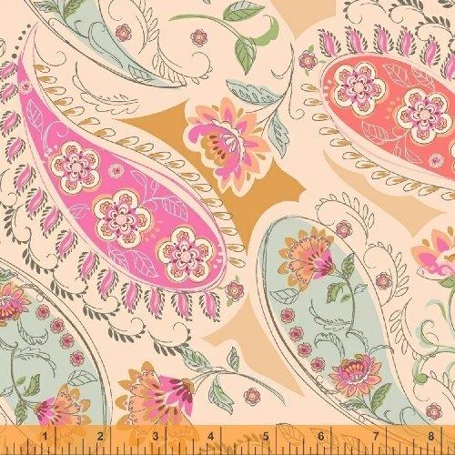 50931-1 Blythe by Sophia Santander Paisley Lt Pink