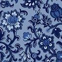 Blue Byrd 51426-3 Rambling Flora wedgewood