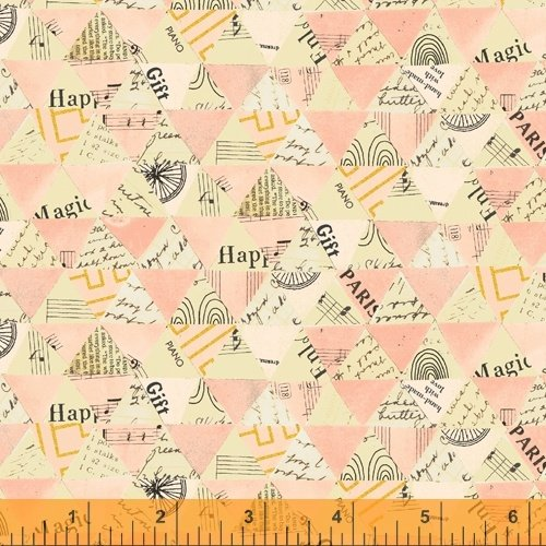 Wish  Collage Triangle Pink 51743M-4