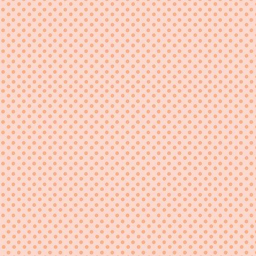0517408B On the Dot Peach/Coral Love Bunny