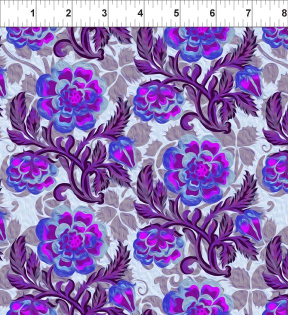 6JYG4 Pastiche Peony Purple