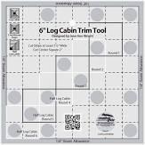 Creative Grids 6 in  Log Cabin Trim Tool