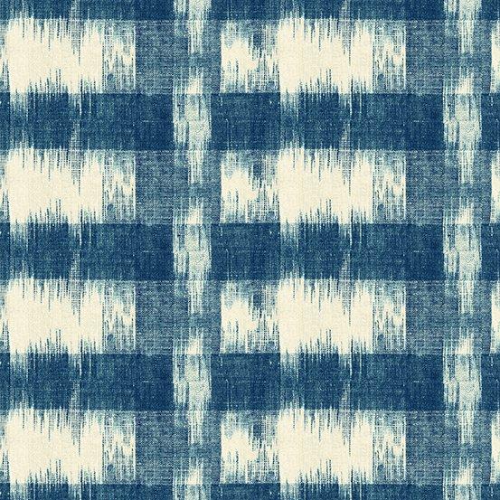 Annabella by Renee Nanneman Ikat Blue A-9722-B