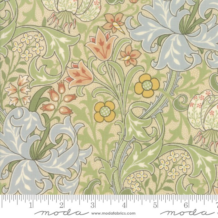 7330-11 Morris Garden Reproduction Golden Lily 1897 Porcelain