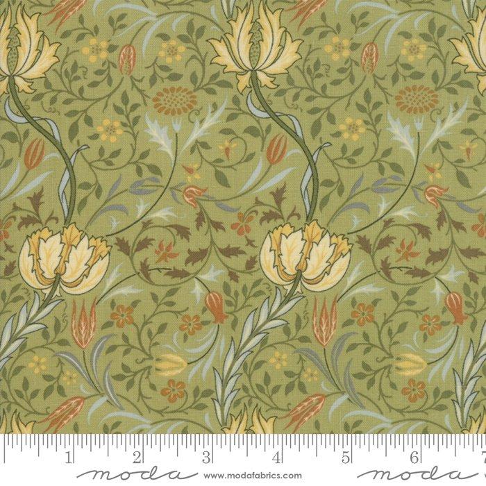 7331-15 Morris Garden Reproduction Flora 1891 Sage