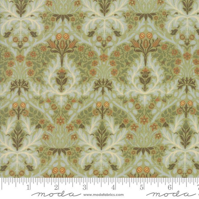 7334-15 Morris Garden Reproduction Autumn Flower 1888 Sage