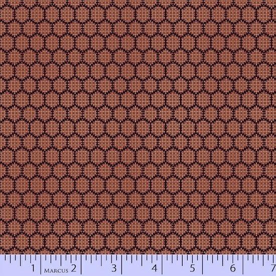 7890-111 Bristle Creek Farm Honeycomb Red/Blue