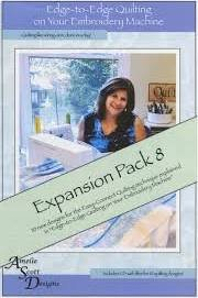 Edge to Edge Quilting Expanded Pack 8 ASD221