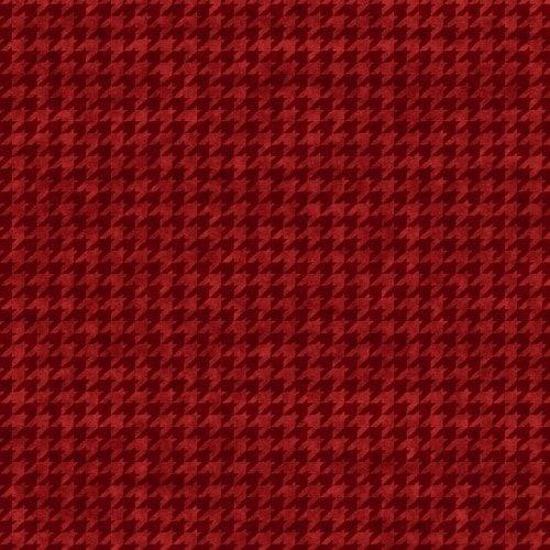8624 88 Houndstooth Basics Red/Black