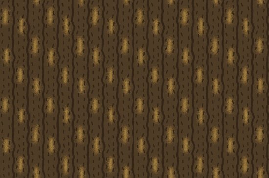B9208-39 Ginger & Spice Stripe Brown/Tan