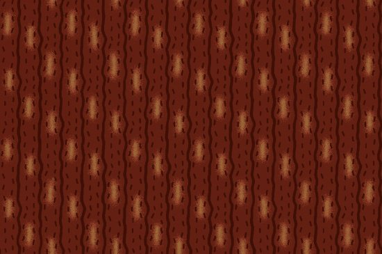 B9208-88 Ginger & Spice Stripe Rust/Tan