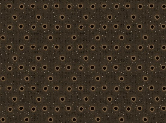 B9210-39 Ginger & Spice Dots Brown