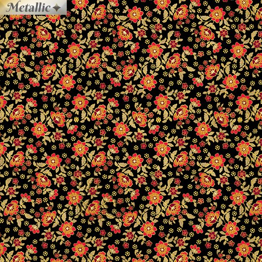 Radiant Mini Blossoms 9746M-12 Black