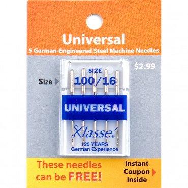 A5-100100 Klasse Machine Needle Universal 100/16
