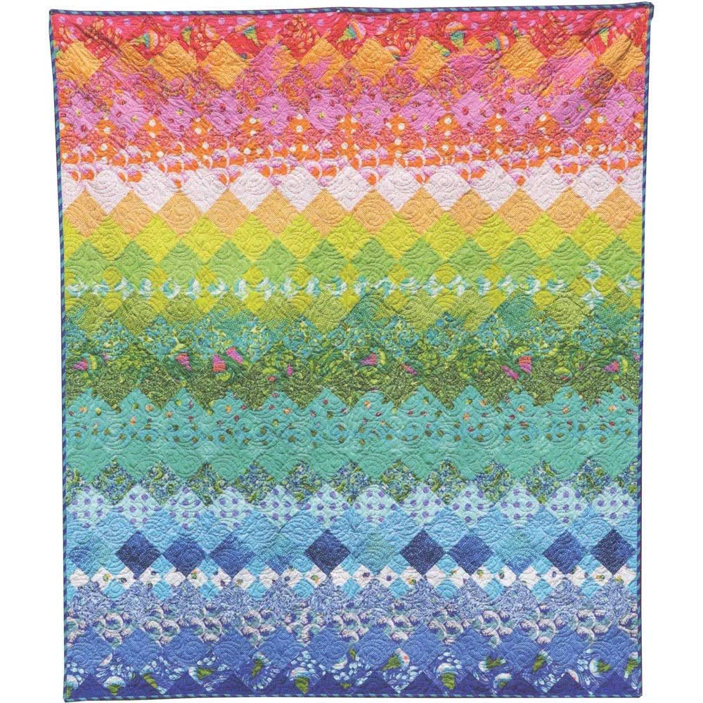 Aurora Quilt Kit featuring Zuma by Tula Pink