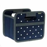A100304 Foldable Box Mini Dot Marne Blue