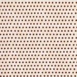 C1973  Ophelia Crimson Dot