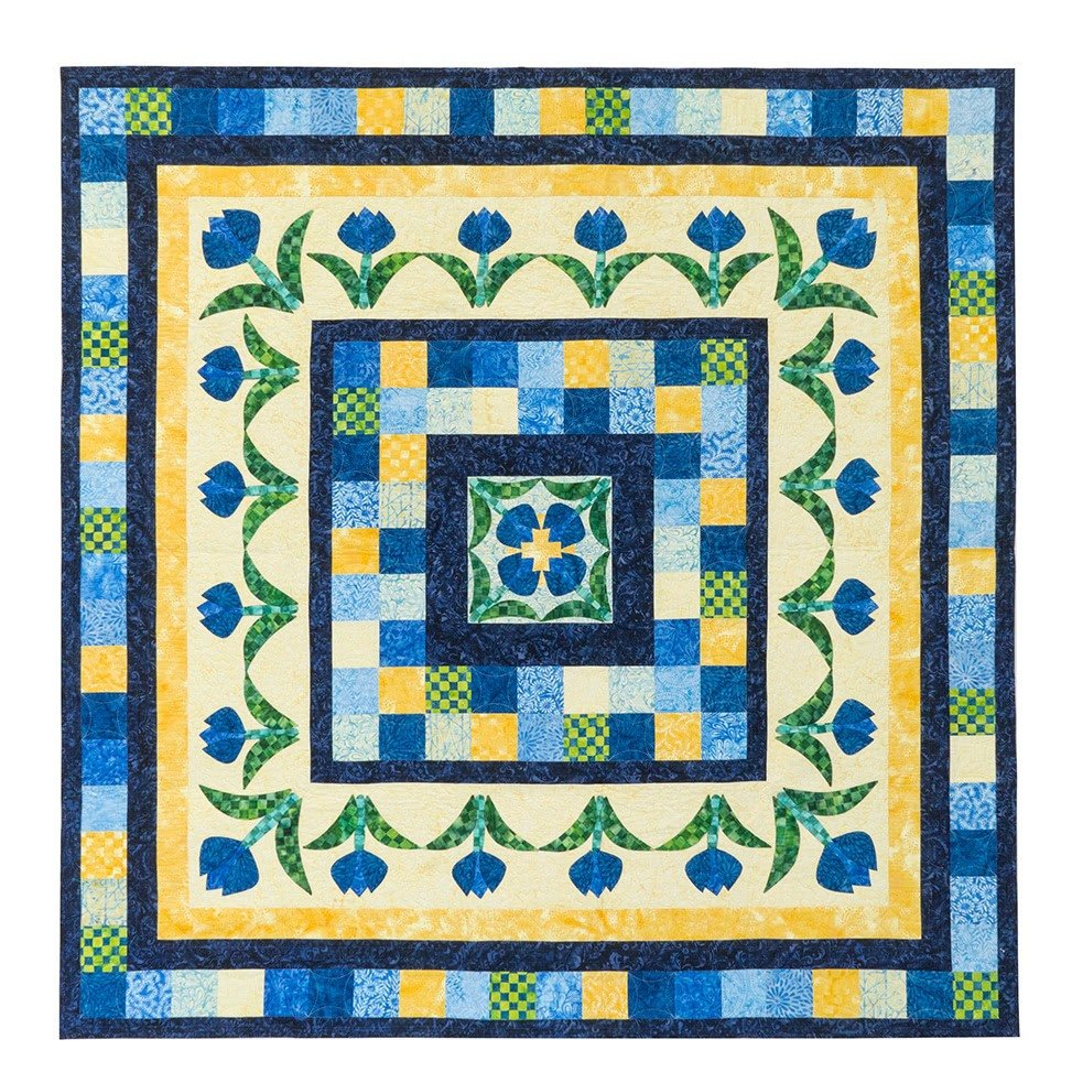 Tulips of Provence Quilt Kit
