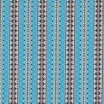 CX8404 Safari Stripe Turquoise