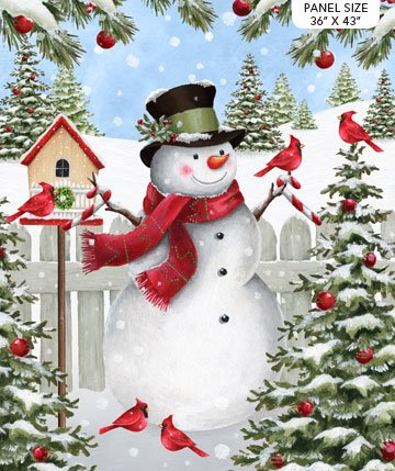 Northcott Winter Welcome 24090-10