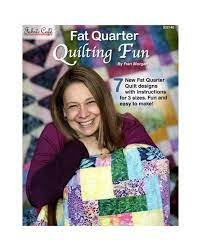 Fabric Cafe Fat Quarter Quilting Fun by Fran Morgan 032140