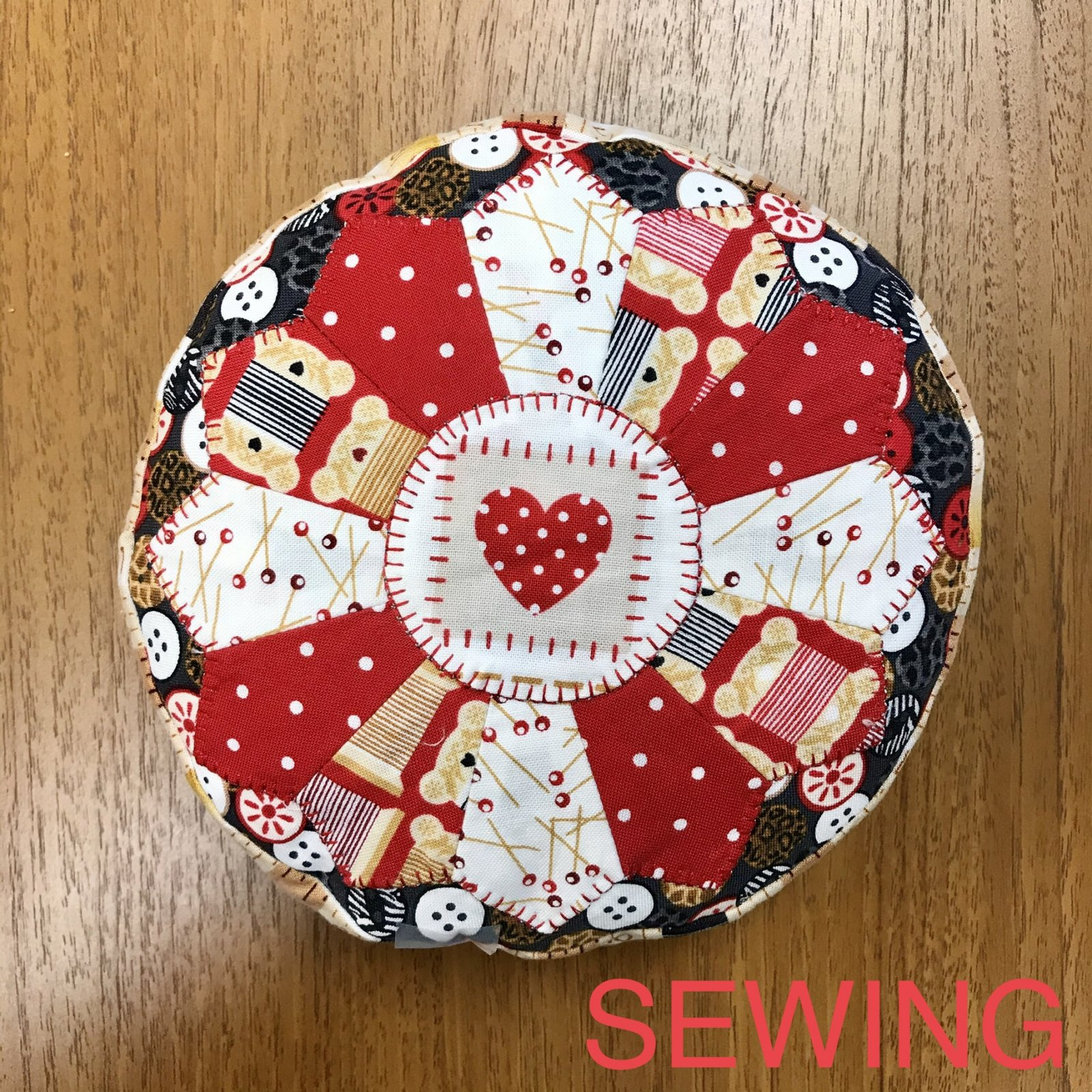 Pin Cushion Sewing