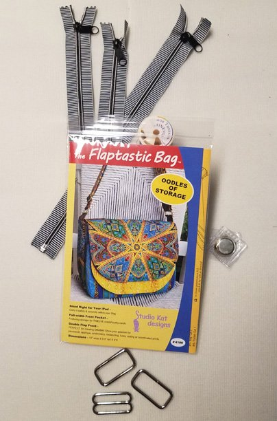Flaptastic Supply Kit Nickel without zippers