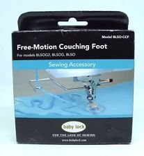 BLSO CCF Free-Motion Couching Foot