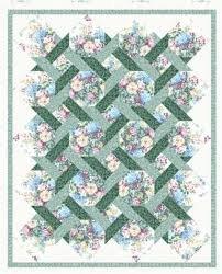 Garden Twist Quilt Kit