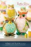 Edgar Owl & Poe Pincushion HBSP009-Owl